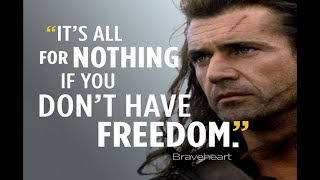 What is life without freedom?
