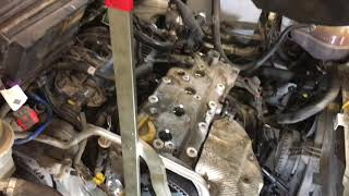 Замена ремня ГРМ Fiat Doblo 1.4 16V 843A1000 timing belt