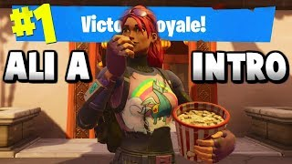I made a Fortnite montage with Ali A's other intro music