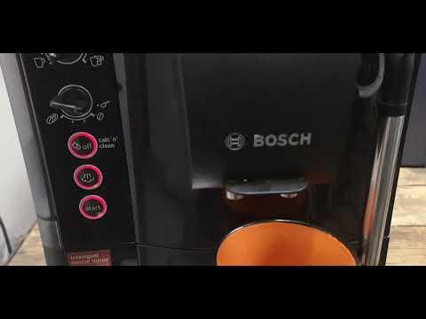 Bosch VeroCafe TES50159de kávéfőző adattáblája