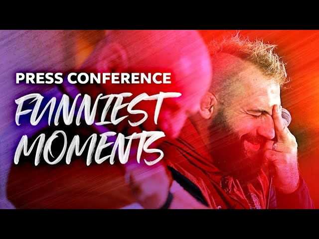 😂 Funniest Press Conference Moments | RWC 2019 | Marler, Cole & More