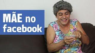 Mãe no Facebook