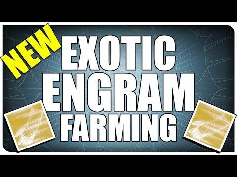 Destiny Exotic Engram Farm #3 After April Update!