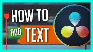 How to Add tęxt in DaVinci Resolve - Resolve 16 Basics Tutorial
