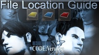 Resident Evil Code Veronica X File Location Trophy Guide [PS4]