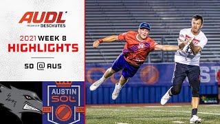 San Diego Growlers at Austin Sol | Week 8 | Game Highlights
