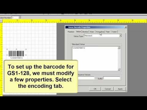 how to create upc barcode