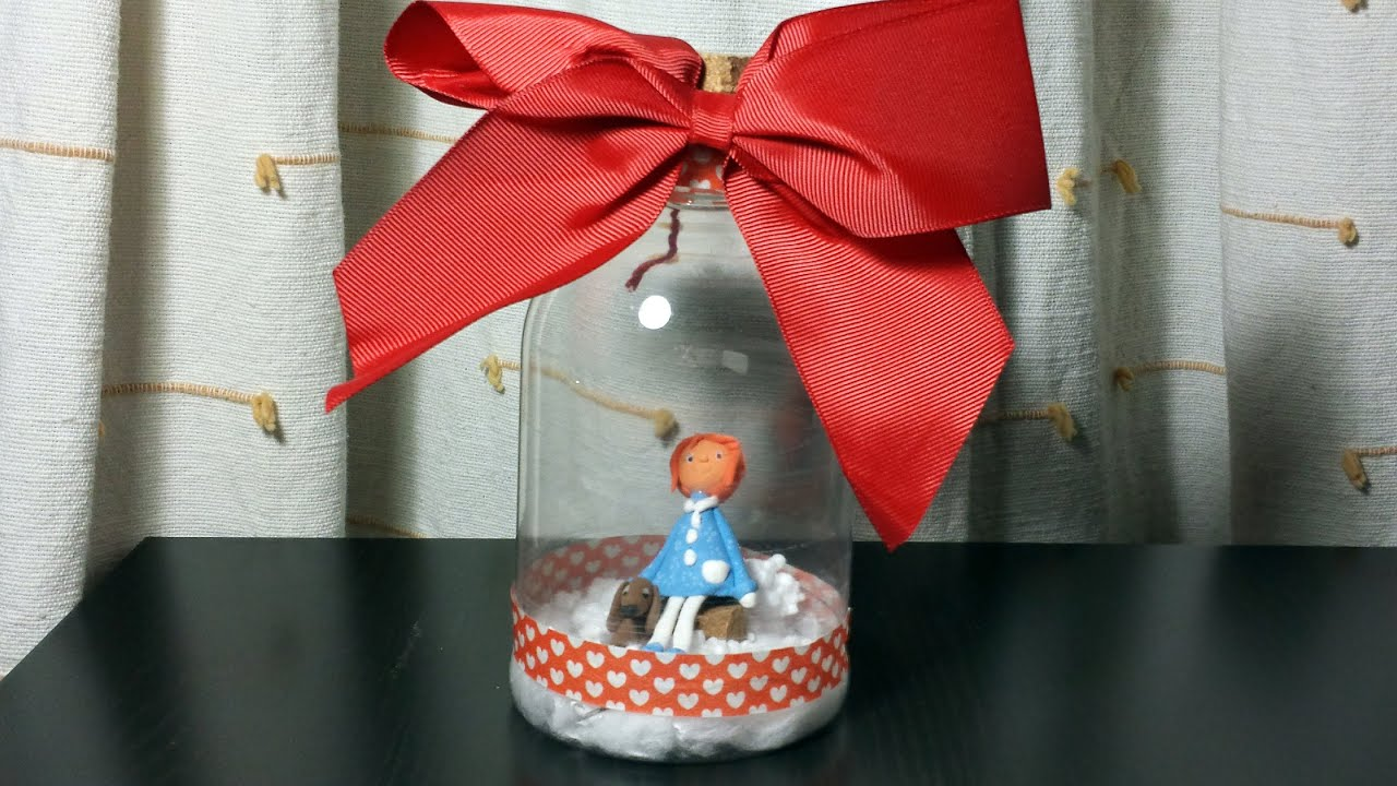 C mo hacer un regalo con una botella de pl stico - Manualidades con tapones de plastico ...