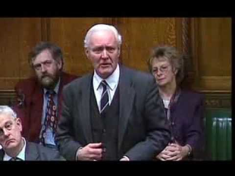 Tony Benn in the House of Commons Iraq Bombing Speech
