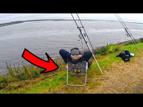 DECK CHAIR FISHING!