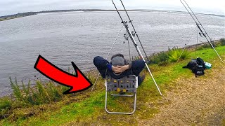 DECK CHAIR FISHING!