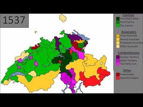 History of Switzerland: Every Year
