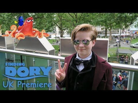 Finding Dory Premiere UK London Leicester Square Odeon 2016 VIP