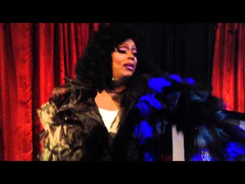 Monica Sinclair-Kennedy performing in Mona's Saturday Night