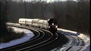 Amtrak in Upstate NY 2000 - Part 1