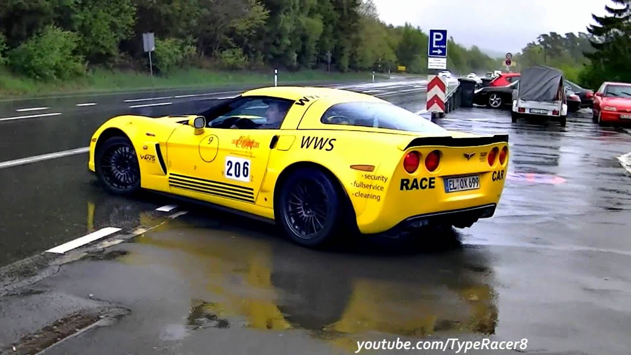 Corvette C6 Z06 \'Race Car\' Powerslide and Sound! 1080p HD! - YouTube