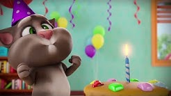 Super Birthday Cake!  Talking Tom Shorts Episode 44