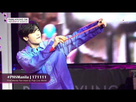 ✨ Park Hyung Sik's First Love In MANILA 2017 [Show Coverage]