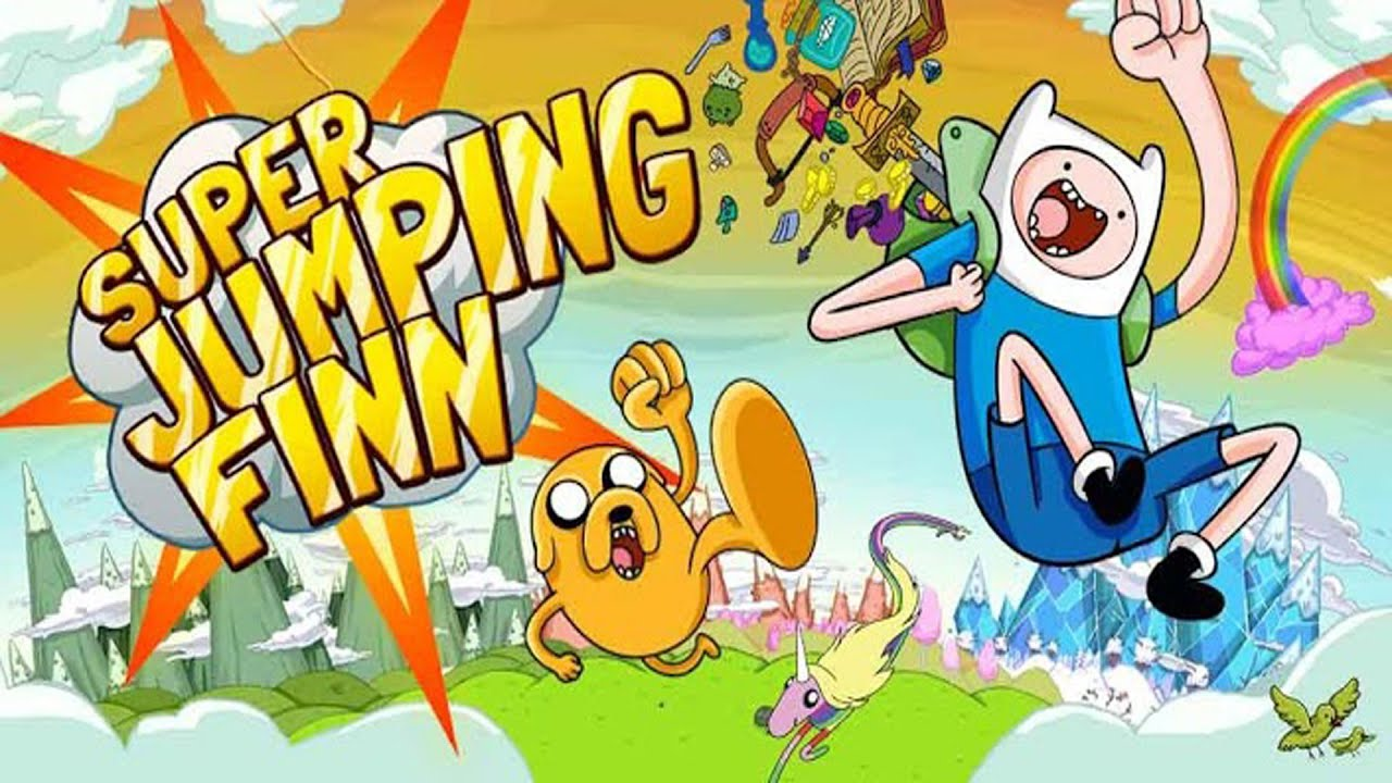 adventure time super jumping finn lets play gameplay part 1 ios