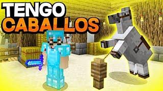 NUEVO ESTABLO Y SALA DE COFRES ¡¡TENGO CABALLOS!! | EliteCraft #15