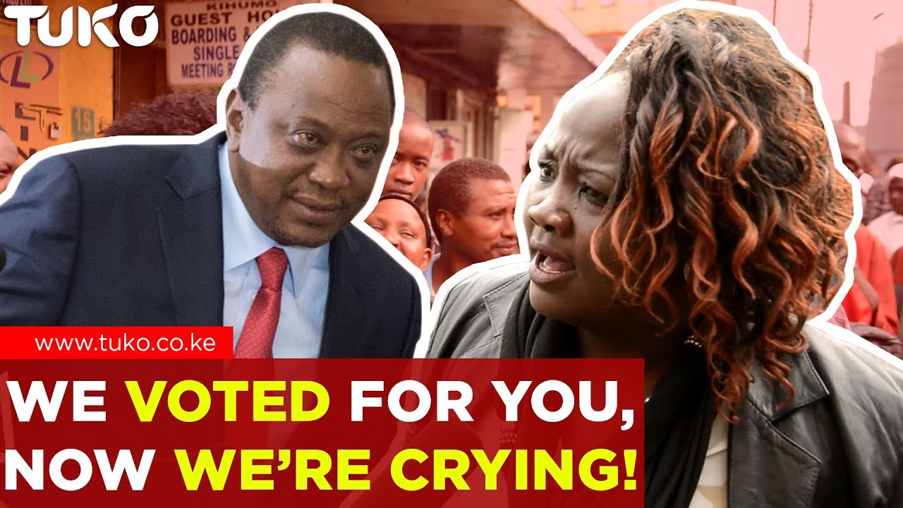 Breaking News Kenya: Angry Kenyan Sends Message to President Uhuru Kenyatta | Tuko TV