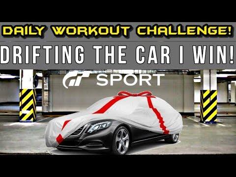 GT SPORT DRIFT THE GIFT CHALLENGE 1