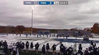Football - Finlandia vs. Trine - Oct. 20, 2018