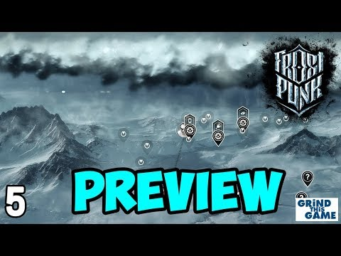 FROSTPUNK PREVIEW Gameplay #5 - MASSIVE STORM COMING! - Steampunk Ice Survival [4k]