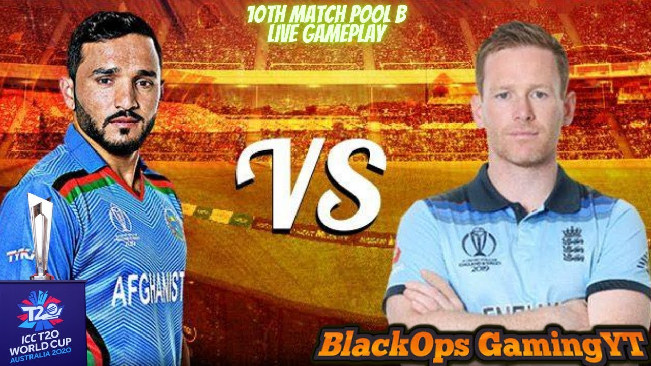Cricket 19 T20WorldCup!!►AfghanistanVsEngland◄10th Match Pool B!!PayTm on Screen !!BlackOpsGamingYT