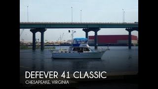 Used 1983 Defever 41 Classic For Sale In Chesapeake, Virginia