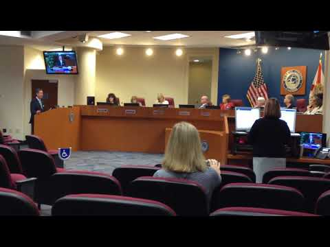 Rep Jim Boyd discusses legislation with Manatee County Commission