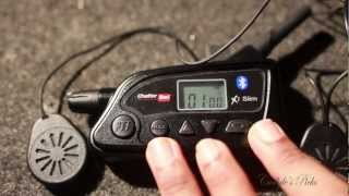 Chatterbox x1 slim, motorcycle 2 way radio: Unboxing and feature overview