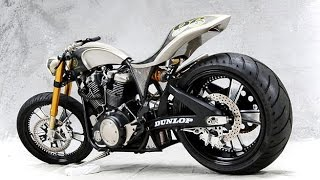 Custom V-twin sport bike