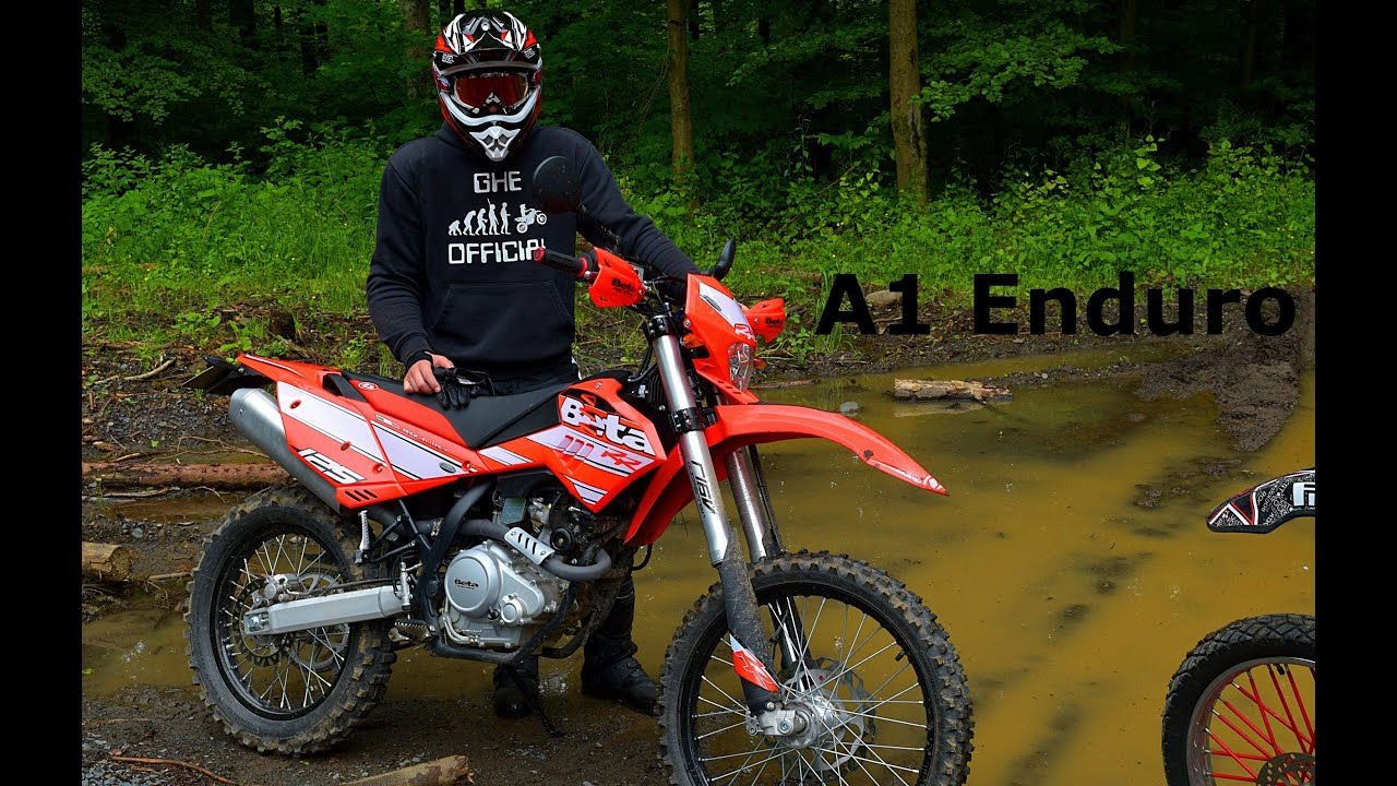 2016 beta rr 125 lc tested on offroad raw sound. Black Bedroom Furniture Sets. Home Design Ideas