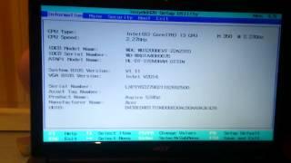Reset Acer Aspire 5745g Bios