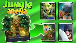 קלאש רויאל - ארנה 9 החדשה (Jungle arena) ועוד 4 קלפים חדשים!