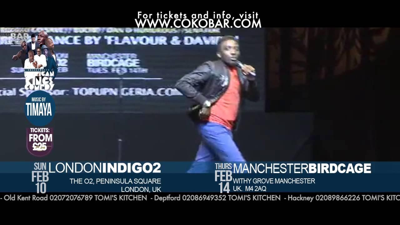''BOVI IN HEAVEN'' - African Kings of Comedy - Valentine 2013 Tkts: www.cokobar.