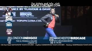 3939BOVI IN HEAVEN3939 - African Kings of Comedy - Valentine 2013 Tkts wwwcokobarcom