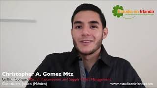 Griffith College ⎮ MSc. In Procurement and Supply Chain Management