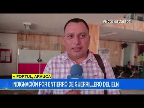 Absurdo homenaje a uno de los más sanguinarios guerrilleros del ELN | Noticias Caracol