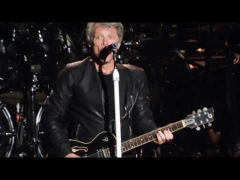 Bon Jovi Live We Weren't Born To Follow / I'll Sleep When I'm Dead / Jumpin' Jack Flash