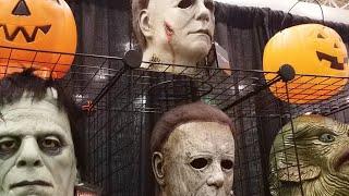 HDN LIVE at HAUNTED SCREAMS EXPO 2021 - Horror Convention Floor Walkthrough