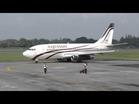 Xpress Air Boeing 737-200 in Adi Sujtipto Airport Yogyakarta