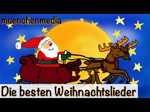Die besten Weihnachtslieder an Heiligabend - Video Mix | Kinderlieder deutsch | Weihnachten