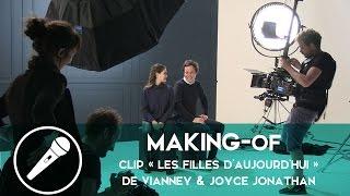 Vianney et Joyce Jonathan - Sur le tournage de leur clip « Les filles d'aujourd'hui »