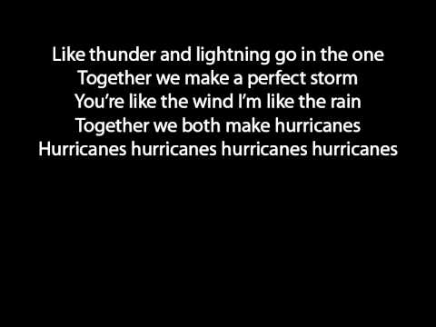 The Script Hurricanes lyrics