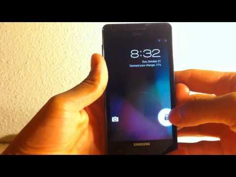 Samsung infuse jellybean update (4.1.2)