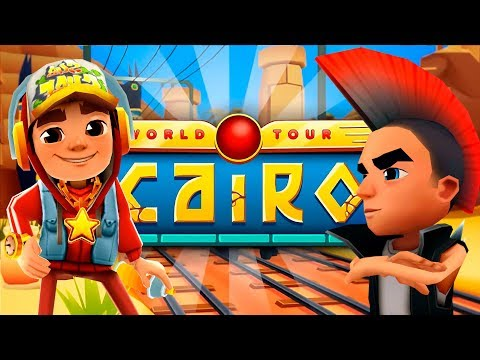 SUBWAY SURFERS CAIRO 2018 - EGYPT ✔ JAKE AND SPIKE + 70 MYSTERY BOXES OPENING