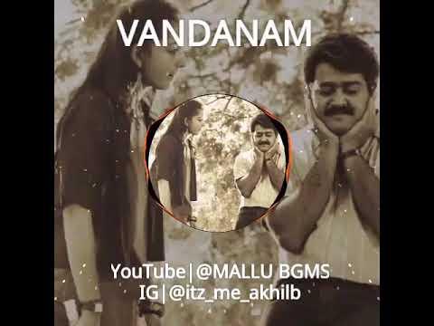 Vandanam BGM | MALLU BGMS|