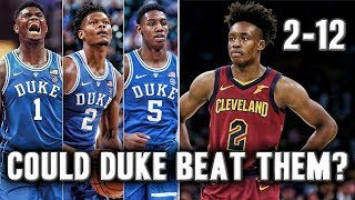 Could Zion Williamson And Duke Beat A NBA Team?